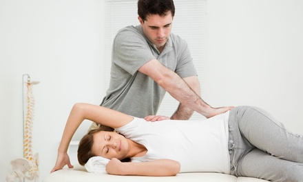 Dallas: Consultation, X-Rays, One-Hour Massage, and One or Four Adjustments at 100% Chiropractic (Up to70% Off)