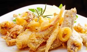 Il Capriccio: Menu di mare con antipasto, 1 kg di fritto misto, dolce e vino a Villa d'Adda(sconto fino a 70%)