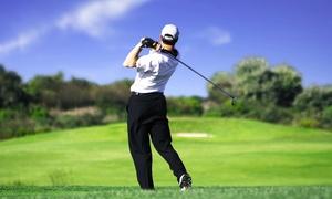 """Garden Golf: Pass """"Infinitee"""" d'1 mois avec accès illimité aux cours collectifs et au parcours de 9 trous à 29 € au Garden Golf"""