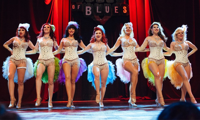 Houston Burlesque Festival or Back in Black - A Tribute to AC/DC - House of Blues Houston: Houston Burlesque Festival or Back in Black - A Tribute to AC/DC on February 21 or February 27 (Up to 51% Off)