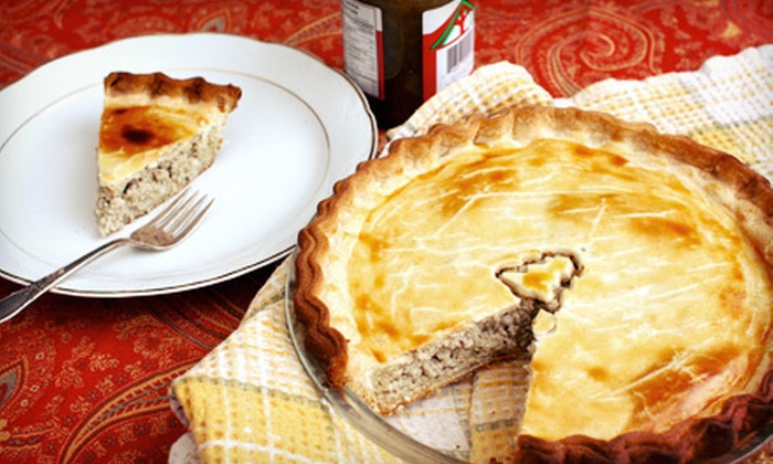 L'Epicerie Rotisserie Gourmet Shop - Granville Island Public Market: One or Two Tourtière Christmas Pies at L'Epicerie Rotisserie Gourmet Shop (Up to 52% Off)