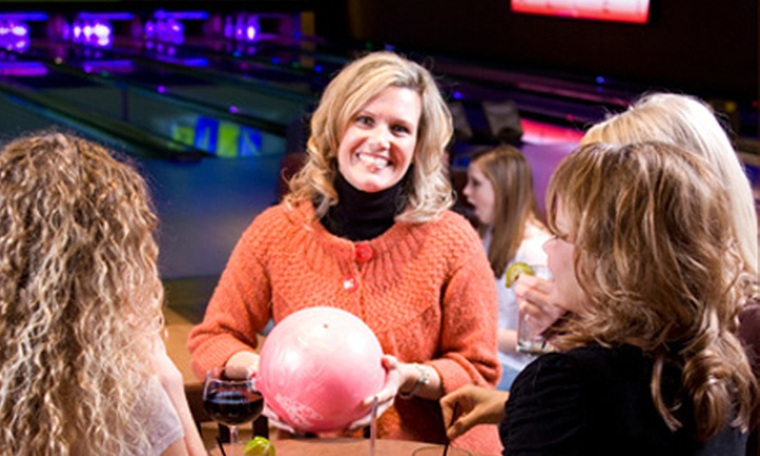 PINZ - Pinz Oakdale: $49 for a Mother's Day Bowling Package with Buffet for Four at PINZ ($106 Value)