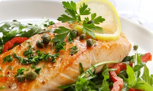 Fish House Bar & Grill: Coastal Cuisine for Two or Four at Fish House Bar & Grill (Up to 52% Off)