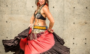 Eastern Fire Belly Dance: Two Belly-Dance Classes for One, or One or Two Belly-Dance Classes for Two at Eastern Fire Belly Dance (Up to 58% Off)