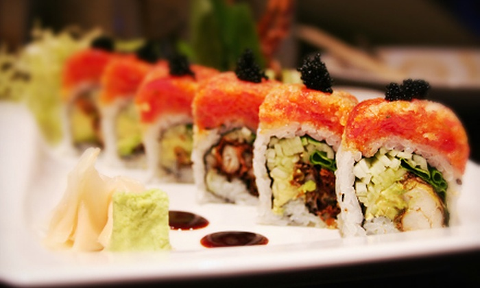 Tropical Cafe - Edmond: $12 for $25 Worth of Sushi Valid on Monday, Wednesday, or Friday, or on Tuesday, Thursday, or Saturday at Tropical Cafe