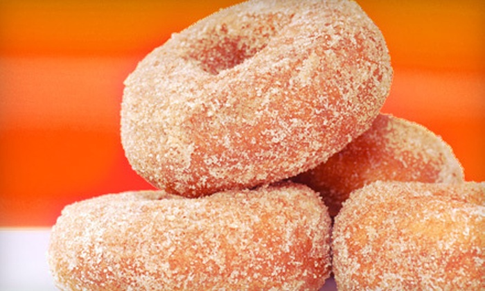 ... Apple-Cider Donuts and a Half Gallon of Homemade Pumpkin Ice Cream at