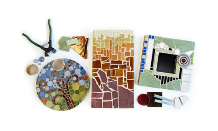 Mercury Mosaics - Northeast Minneapolis: $38.50 for Beginner Class at Mercury Mosaics ($80 Value)