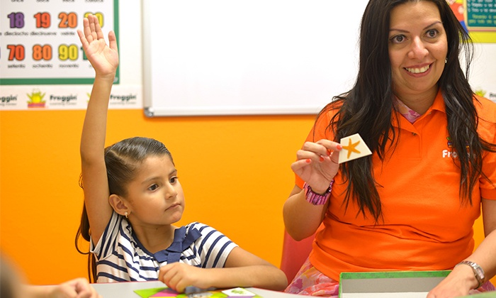 Froggin Learning Center - Bull Creek Market: $45 for a Four-Day Spanish-Language Day-Camp Session from Froggin Learning Center ($145 Value)