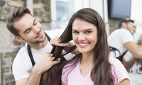 Cut and Finish (from €16) Plus Choice of Colouring Treatment (from €39) at All About Hair (Up to 61% Off)