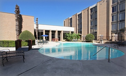 Stay at Admiral Hotel in Arlington, TX. Dates into June.