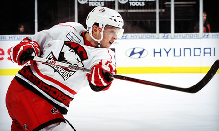 Charlotte Checkers - Time Warner Cable Arena: $50 for an Ice-Level Seat to See the Charlotte Checkers at Time Warner Cable Arena ($100 Value). Four Games Available.