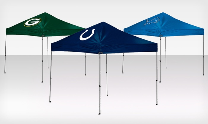 ... 9u0027x9u0027 NFL Canopy Tent $129.99 for a 9u0027x9u0027 NFL & 9u0027x9u0027 NFL Canopy Tent - 9u0027x9u0027 NFL Canopy Tent | Groupon