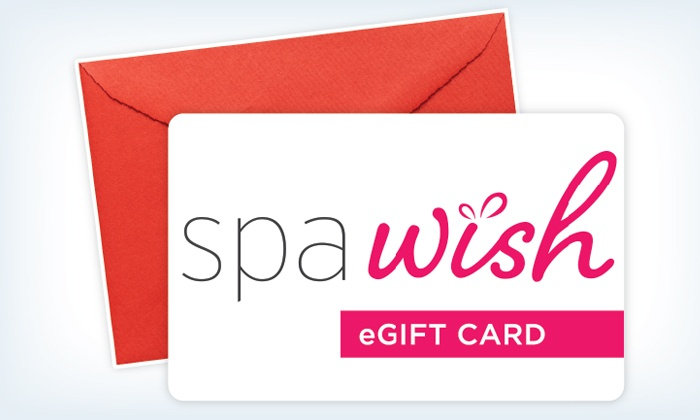 SpaWish: One or Two $50 Spa Gift Cards from SpaWish (Up to 35% Off)