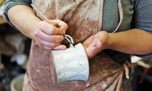 Ceramic Cafe: Pottery Painting or BYOB Date Night for Two at Ceramic Cafe (Up to 50% Off). Three Options Available.