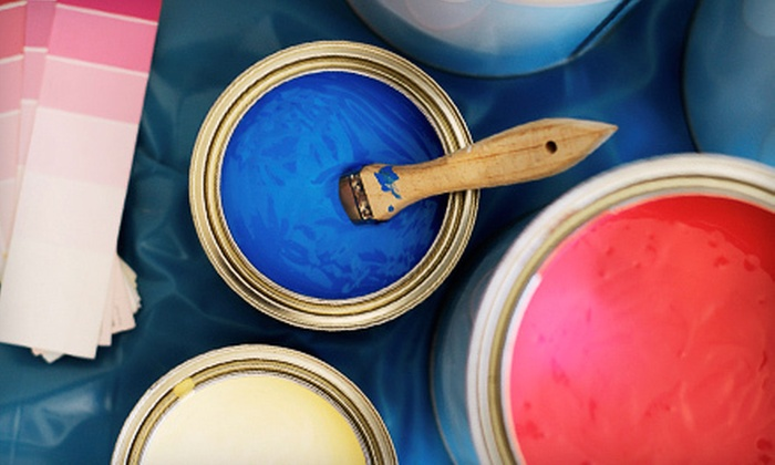 Dp Customs N-Terior & X-Terior - Genesee-Jefferson: Interior Painting for One, Two, or Three Rooms Up to 12'x12'x9' Each from Dp Customs N-Terior & X-Terior (Up to 83% Off)