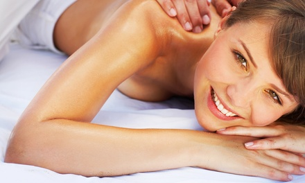 Massage with Optional Mani-Pedi, or Couples Massage at TQ Spa (Up to 62% Off)