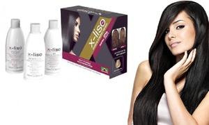 Kit lissage X-Liso et masque L'Oréal