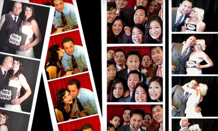 Spotlight Parties - Los Angeles: Two- or Four-Hour Photo-Booth Rental Valid Monday–Thursday or Friday–Sunday from Spotlight Parties (Up to 52% Off)