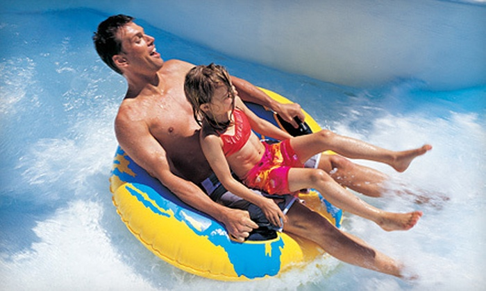 Liquid Planet Water Park - Candia: $18 for a Water-Park Day with Mini Golf and Zipline Ride at Liquid Planet Water Park in Candia (Up to $39 Value)