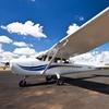 Als Flugschüler selber fliegen