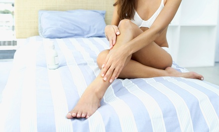 Six Laser Hair-Removal Treatments on a Small or Medium Area at Skin & Beyond (Up to 96% Off)