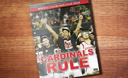 $11 for a Commemorative NCAA University of Louisville Cardinals Championship Book from Rylin Media ($21.90 Value)