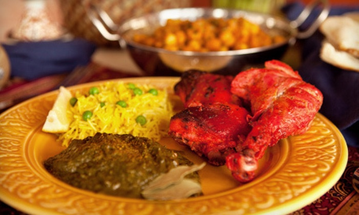 Bombay Thali - Salina: Indian Food for Two or Four at Bombay Thali (Half Off)