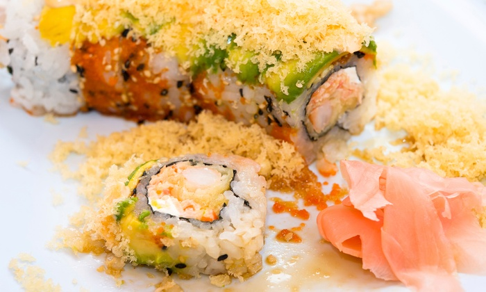 Soya - Yates: Sushi and Hibachi-Grill Cuisine at Soya (50% Off). Two Options Available.