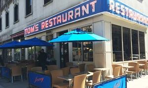 Tom's Restaurant: $17 for  a $25 Gift Card to Tom's Restaurant from Seinfeld