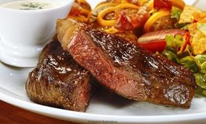 Fonte Nova Restaurante: Picanha completa ou filé à parmegiana para 2 ou 4 pessoas no Fonte Nova Restaurante – Santa Efigênia