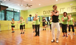 Dance It Off: 5 or 10 One-Hour Dance-Fitness Classes at Dance It Off (Up to 58% Off)