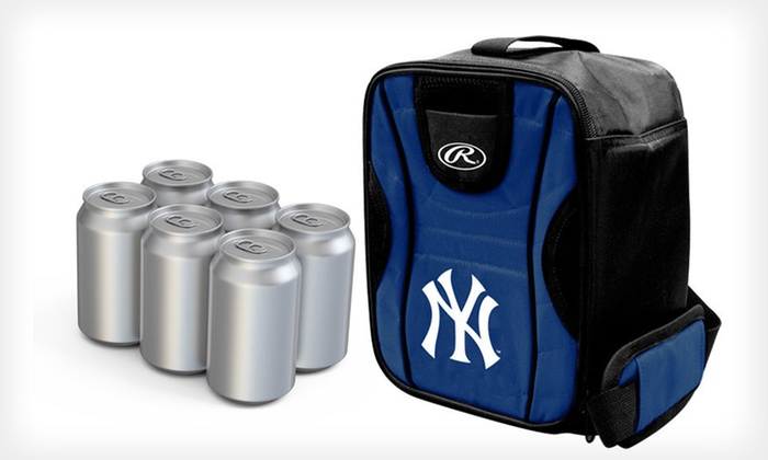 MLB Six-Pack Cooler: $7.99 for an MLB Six-Pack Cooler ($15 List Price). 19 Team Logos Available.