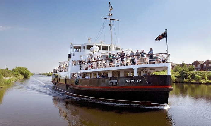Manchester Ship Canal Cruise Mersey Travel Groupon - Cruise ship anal