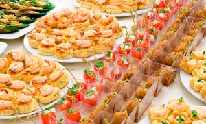 Catering con 72, 144 o 288 piezas para 6, 12 o 24 personas desde 29,90 € en Sartago Catering