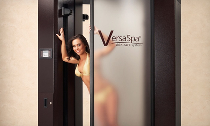 The Hot Spot Tanning - Multiple Locations: One Month of Unlimited UV Tanning or Three VersaSpa Sunless Tans at The Hot Spot Tanning (Up to 76% Off)