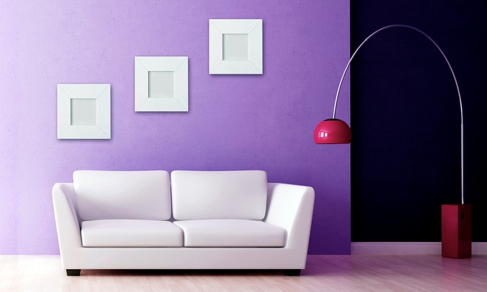 Herndon Services Co - Dallas: $150 for Painting for a 12'x12'x8' Room from Herndon Services Co ($300 Value)