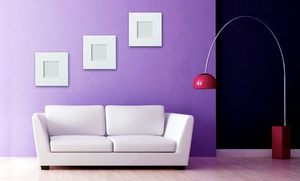 Herndon Services Co: $150 for Painting for a 12'x12'x8' Room from Herndon Services Co ($300 Value)