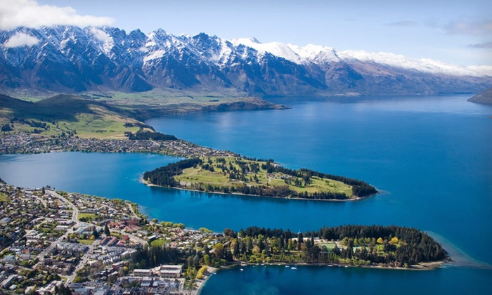 New Zealand North & South Island Vacation with Airfare - Queenstown: 11-Day, 8-Night New Zealand Trip with Roundtrip Airfare and Optional Stay in Rotorua from Air New Zealand Vacations