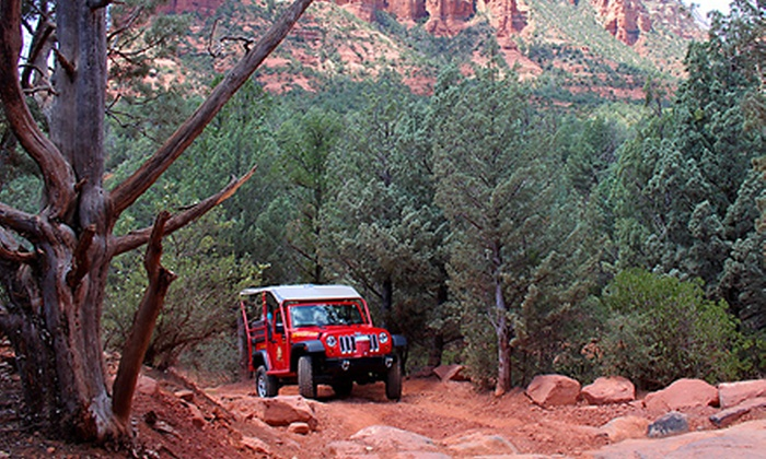 Red Rock Western Jeep Tours - Sedona: Two-Hour Guided Excursion for Two, Four, or Six from Red Rock Western Jeep Tours in Sedona (Up to 45% Off)