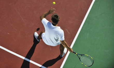 Five-Week Beginner Tennis Class for One or Two Adults or One Child at Steel Shop Tennis Club (Up to 61% Off)