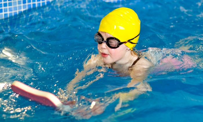 Stamford JCC - Springdale - Glenbrook - Belltown: 7 or 11 American Red Cross Swimming Lessons for Kids Age 3–9 at Stamford JCC (Up to 53% Off)