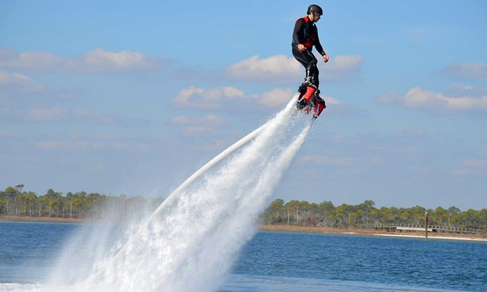 Orange Beach Flyboard - Bear Point Marina: 30-Minute Flyboarding for One or Two or 20-Minute Flyboarding for One at Orange Beach Flyboard (Up to 57% Off)