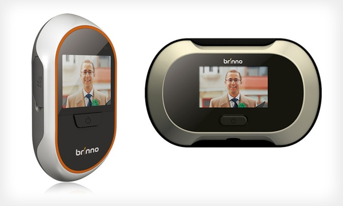 Brinno Digital Peephole Viewer: $105.99 for a Brinno Enhanced Digital Peephole Viewer with Knocking Sensor ($180 List Price). Free Shipping.