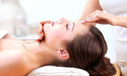image for Indian Head Massage or Natural Facial (£12) or Both (£21) at The Sun Spa