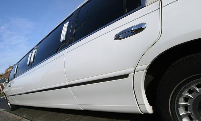 Umib Limo - Boston: Round-Trip Airport Transportation from Umib limo (45% Off)