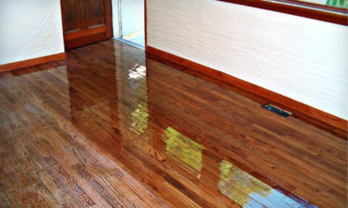 Hardwood Floor Resurfacing Fabulous Floors Groupon