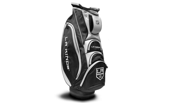 Los Angeles Kings Victory Golf-Cart Bag: Los Angeles Kings Victory Golf-Cart Bag
