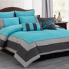 Oversized and Overfilled 8-Piece Quilted Comforter Set