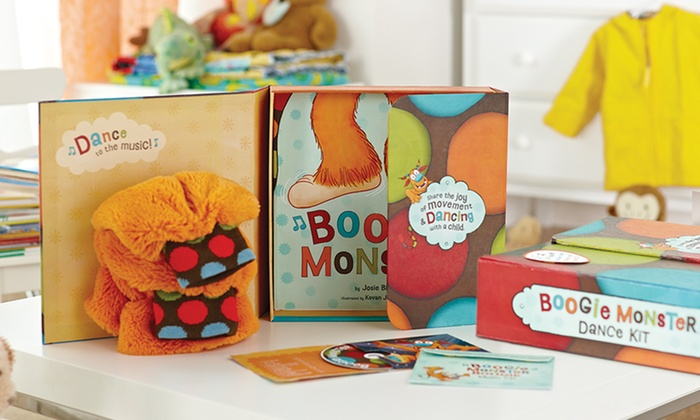 Boogie Monster Book and Dance Kit : $24.99 for a Boogie Monster Book and Dance Kit ($39.95 List Price). Free Shipping.