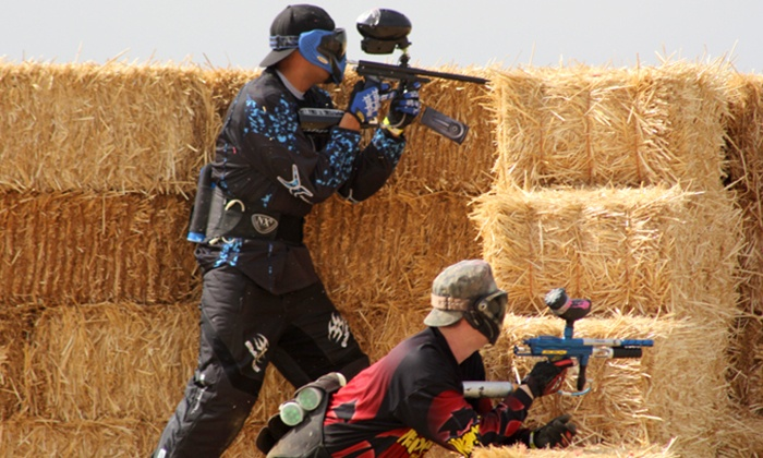 Warped Paintball Park - Warped Paintball Park: Paintball Commando Package for 2, 4, or 10 with Gear Rental & Paintballs at Warped Paintball Park (Up to 58% Off)